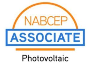 NABCEP Associate PV logo