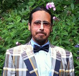 Solar Living Institute board member Brian Varkevisser