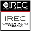 IREC Credentialing Program logo