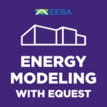 energy modeling in eQuest online course logo