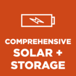 comprehensive solar and storage online course logo