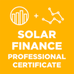 solar finance master series online course logo
