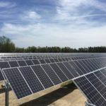 utility scale solar online course logo